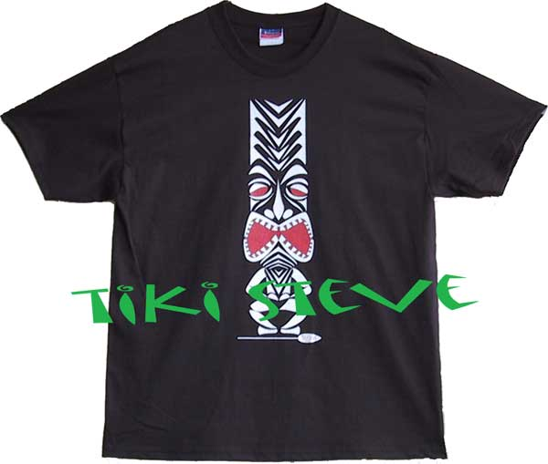 Black Widow Tiki T-Shirts