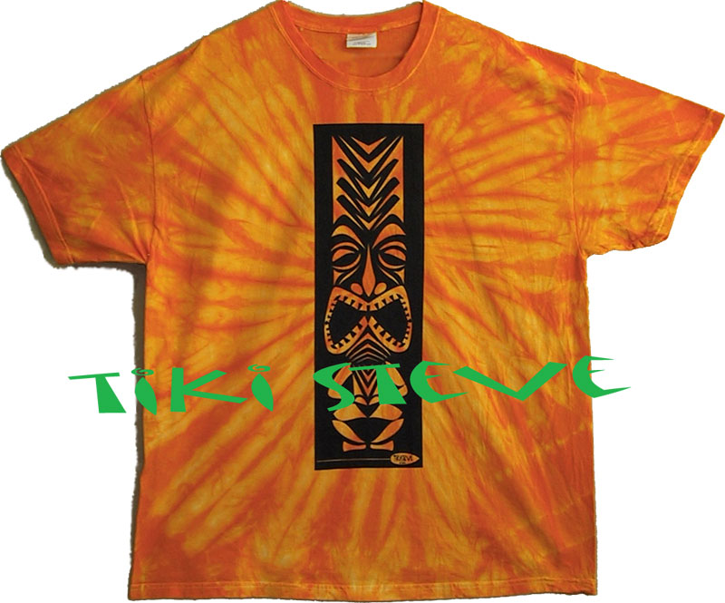 Gold Spider Tiki T-Shirts