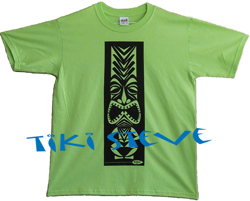 Key Lime Tiki T-Shirts
