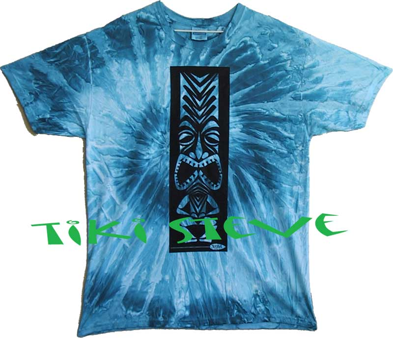 Ocean Water Tiki T-Shirts