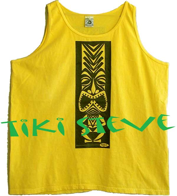 Sunburst Tiki Tank Top