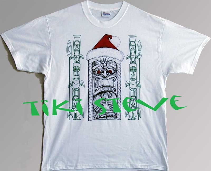 Christmas Tiki T-Shirts